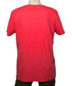 Remera Hombre Rojo Algodón OXX-ABSOLUT ESCAPE Atras