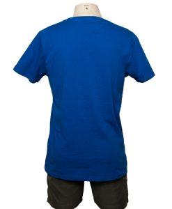 Remera Hombre Azul Algodón HALOGEN ROCA aTRAS