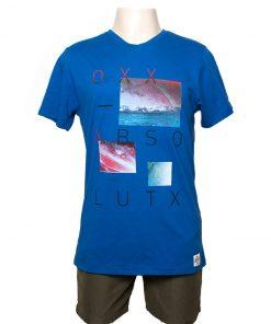 Remera Hombre AzulAlgodón OXX-ABSOLUT LUTX