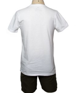 Remera Hombre Blanco Algodón OXX-ABSOLUT SUNRISE Atras