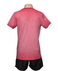 Remera Hombre Rojo Algodón OXX-ABSOLUT 978 Atras