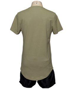 Remera Hombre Verde Algodón OXX-ABSOLUT TWENTY Atras