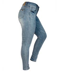 Jeans Damas Azul SLOWLY Modelo Blue lateral