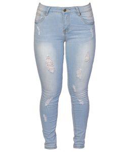 Jeans Damas Celeste SLOWLY Modelo Ligth Blue
