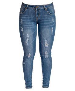 Jeans Damas Azul SLOWLY Modelo Met Blue