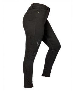 Jeans Damas Negro SLOWLY Modelo Negro lateral