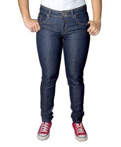 Jeans Damas Azul Marino SLOWLY Modelo Oscuro