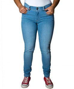 Jeans Damas Celeste SLOWLY Modelo Intermedio