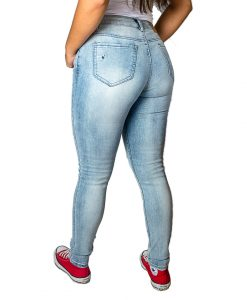 Jeans Damas Celeste SLOWLY Modelo Light Blue II