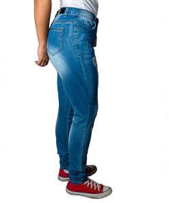 Jeans Damas Celeste SLOWLY Modelo Mid Blue II