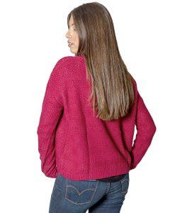 Sweater Dama Bordó SLOWLY SWE-D-6