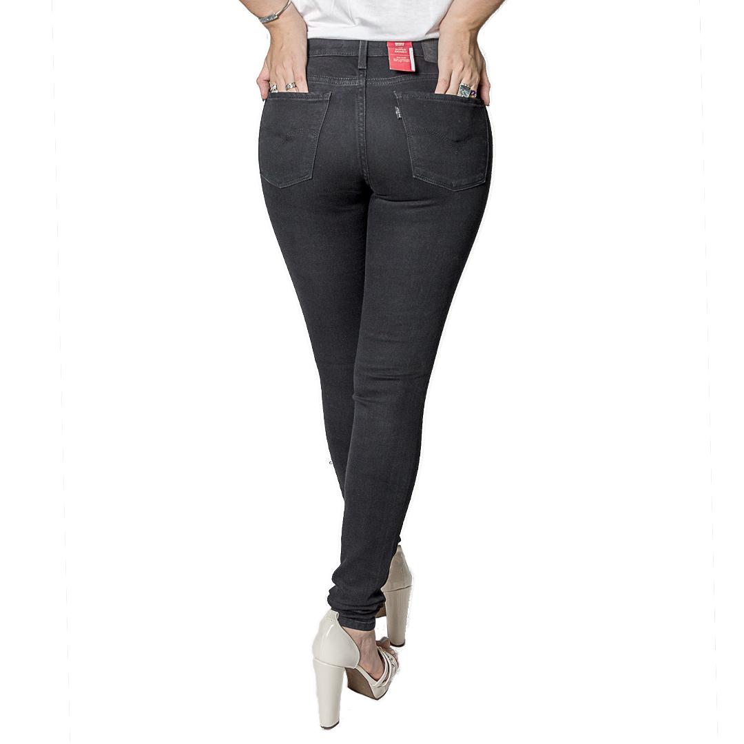 Jeans Damas Negro Levi´s 710 Super Skinny