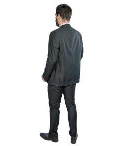 Traje para Hombres Negro Adam Tailor Slim Fit