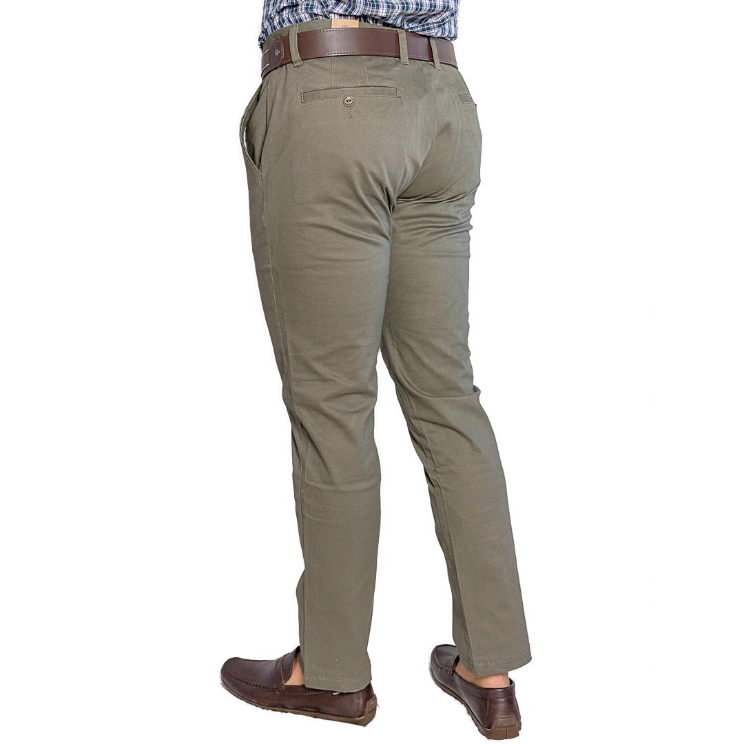 Pantalón Hombre Verde Clásico Adam Tailor