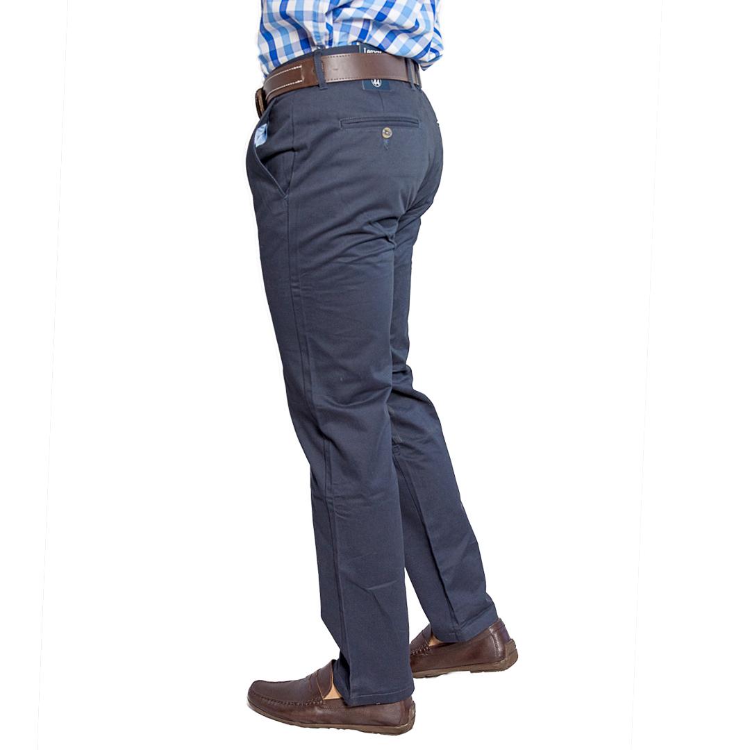 Pantalon Hombre Azul Clasico Legacy Tienda Chaia