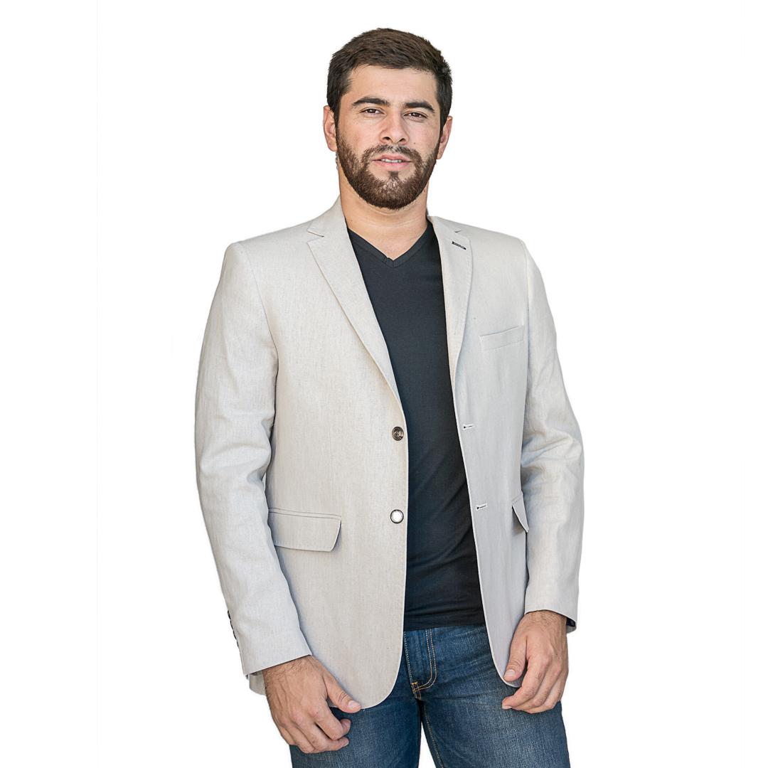 Blazer para Hombres Blanco Christian Bordeaux Clasico - Tienda Chaia 3d05a2cda5e