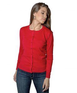 Cardigan Corto Dama Rojo WANNA CAD-D-15