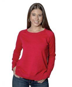 Sweater Dama Rojo SLOWLY SWE-D-4