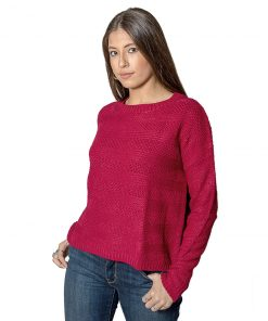 Sweater Dama Bordó SLOWLY SWE-D-6