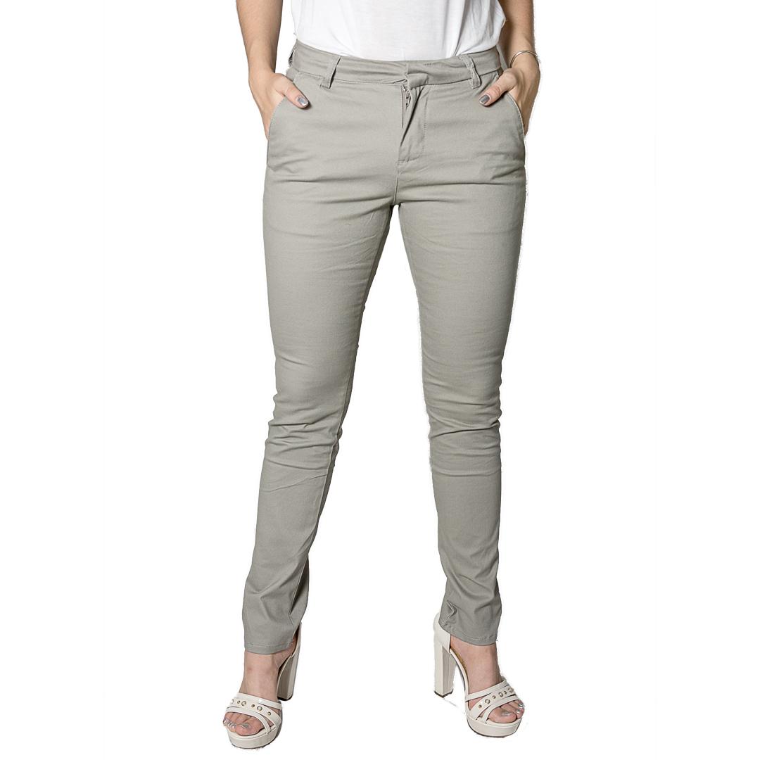 Pantalón Dama Gabardina Gris Legacy PAN-D-3