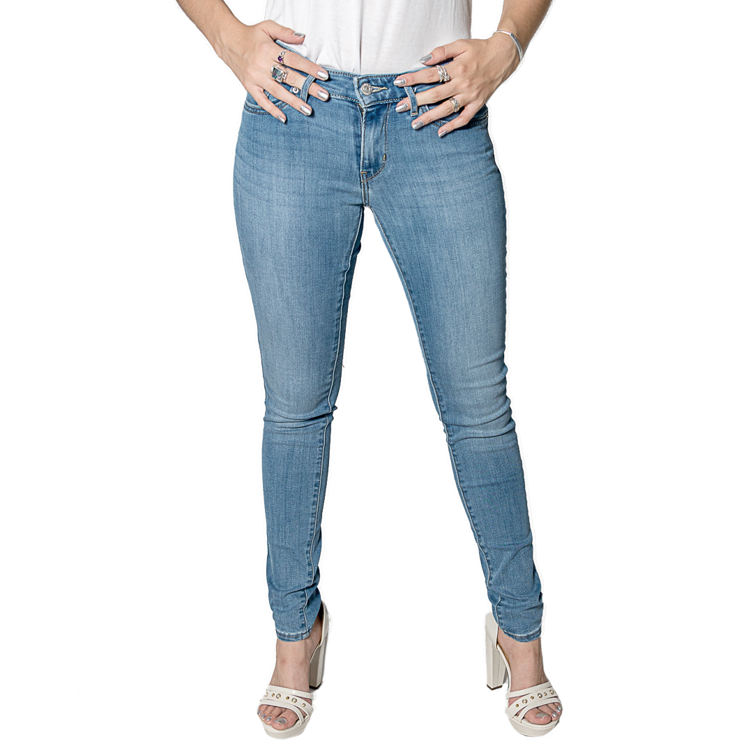 Jeans Damas Celeste Levi´s 711 Skinny