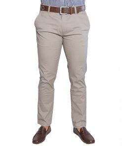 Pantalón Hombre Beige Clásico Adam Tailor