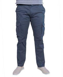 Pantalón Cargo Hombre Azul Legacy