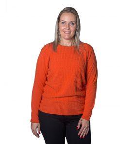 Sweater Dama con Trenzas SWE-D-11
