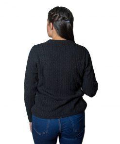 Sweater Dama Burma Base con Trensas SWE-D-21