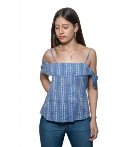 Blusa Dama Musculosa Azul Wanna/Slowly BWS-05