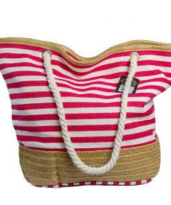 Bolsos Dama de Playa Rojo a Rayas CAR-D-32