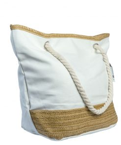 Bolsos Dama de Playa color Blanco CAR-D-33