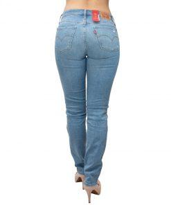 Jeans Damas Celeste Levi´s 712 Slim LEV-D-4