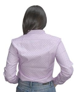 e10169f047 ... Camisa Dama Rosa Estampado Wanna Slowly BWS-93
