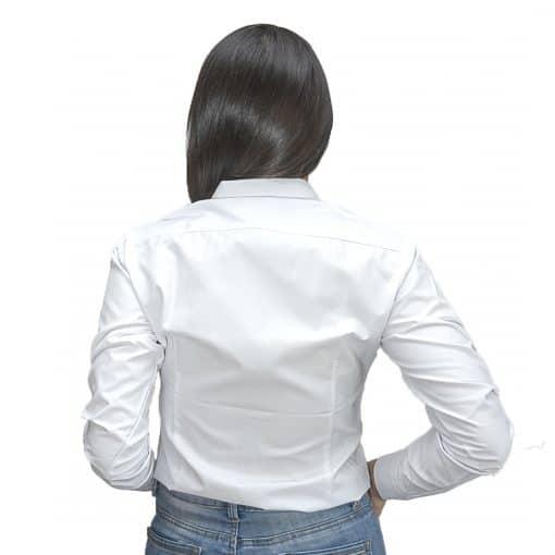Camisa Dama Blanco Estampado Wanna/Slowly BWS-95