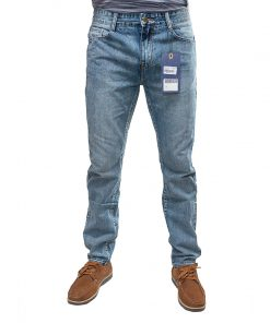 Jeans Hombre Halogen Med Blue Monte Carlo JEH-08