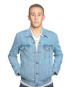 Campera Hombre Jeans Levi´s Celeste CDL-01