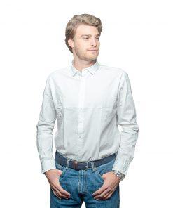 Camisa Hombre Blanco Halogen CAM-H-56