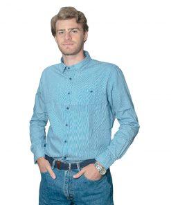 Camisa Hombre a Rayas Halogen CAM-H-89