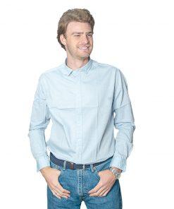 Camisa Hombre Celeste Halogen CAM-H-90
