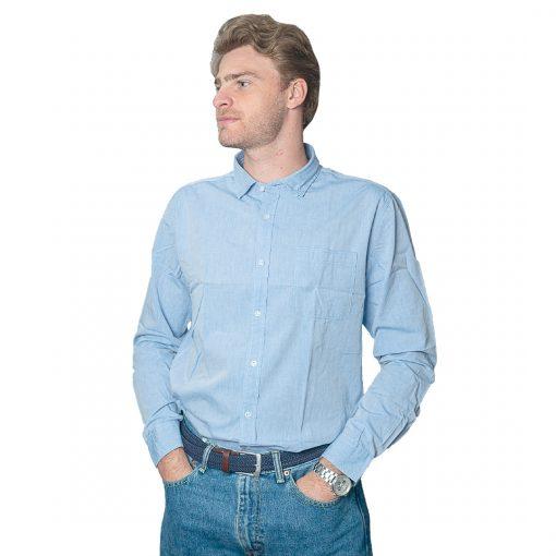 Camisa Hombre Celeste Halogen CAM-H-97