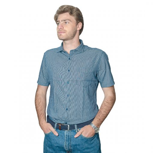 Camisa Hombre a Rayas Halogen CAM-H-101