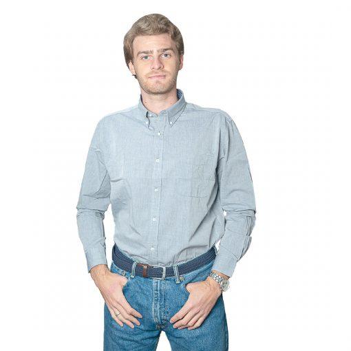 Camisa Hombre Gris Halogen CAM-H-102
