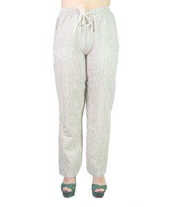 Pantalón Dama con Rayas Verdes PAN-D13