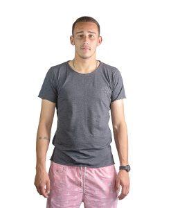 T-Shirt Hombre Gris Oscuro Legacy RHU-145