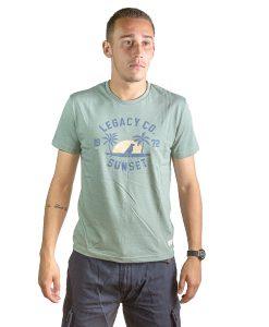 T-Shirt Hombre Verde Legacy RHU-137