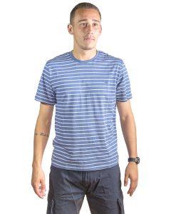T-Shirt Hombre Azul a Rayas Legacy RHU-141