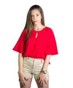 Blusa Dama Rojo Wanna BWS-227