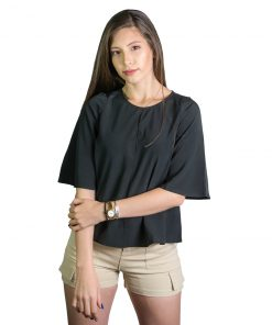 Blusa Dama Negro Wanna BWS-229