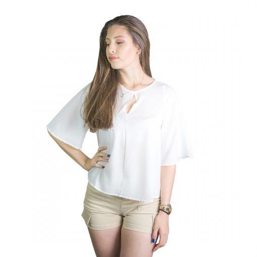 Blusa Dama Blanco Wanna BWS-233